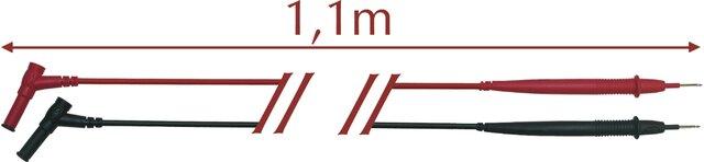TEST LEADS EGATRONIK CAT III 1000 V-CAT IV 600 V