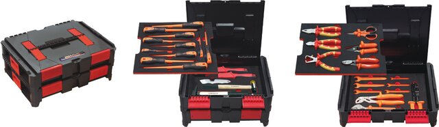 PROFESSIONAL ELECTRICIAN TOOLKIT ADVANCED 34 PIECES SOUTHERN EUROPE