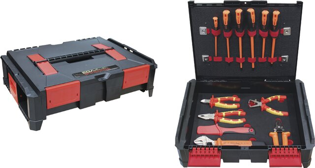 PROFESSIONAL ELECTRICIAN TOOLKIT BASIC 12 PIECES SOUTHERN EUROPE