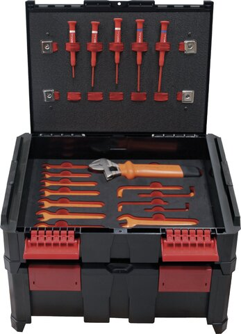 PROFESSIONAL ELECTRICIAN TOOLKIT MASTER 54 PIECES SOUTHERN EUROPE